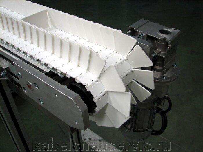 Ленты конвейерные пластиковые модульные Habasit